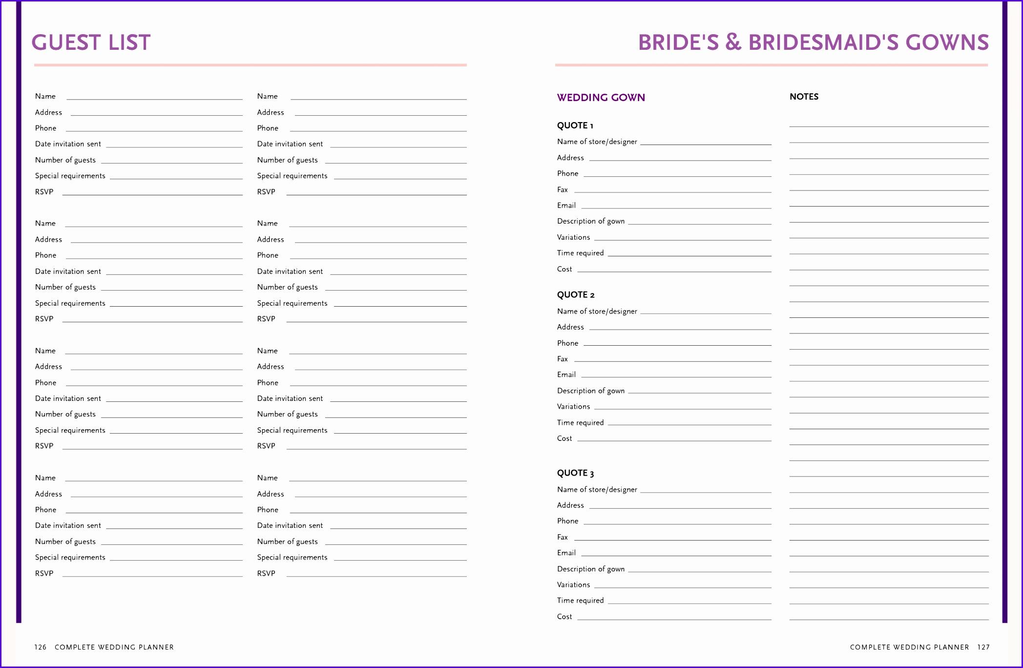 Wedding Invitation Excel Template Ivoiregion