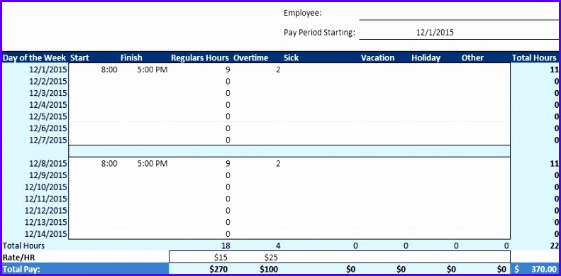 12 Vacation Schedule Template Excel - ExcelTemplates - ExcelTemplates