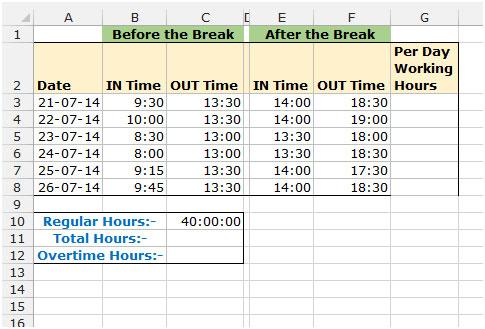 timesheet hour calculator - Tomadaretodonate - employee schedule calculator