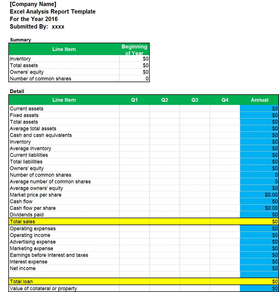 Cash Flow Excel Template  Business Templates