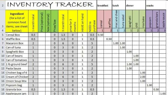 5+ Excel Inventory Sheet Templates \u2013 Word Templates