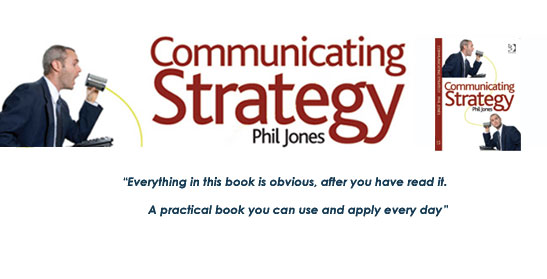 Book Communicating Strategy - a practical guide - - communication strategy