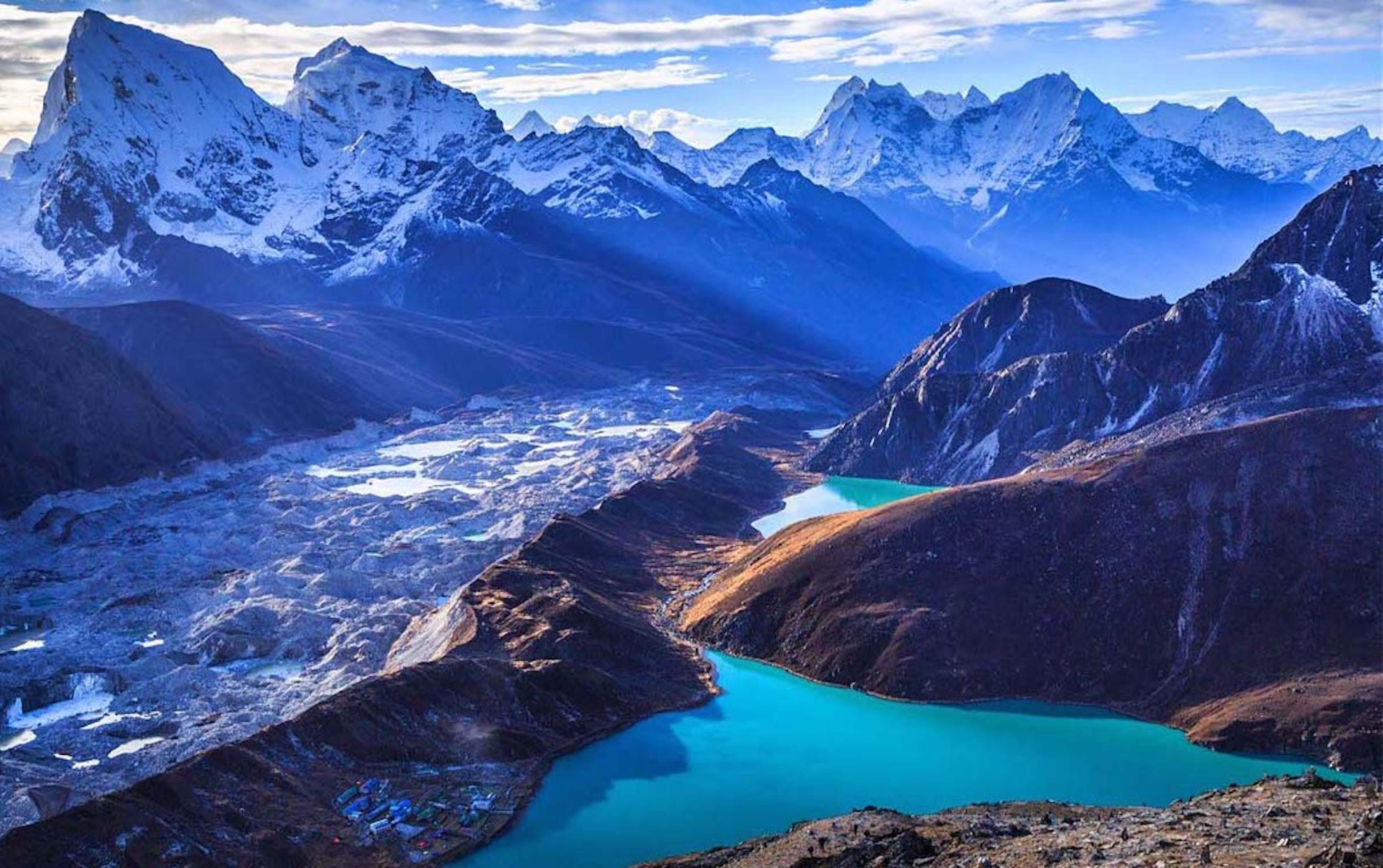 Beautiful Winter Wallpapers Hd Everest Base Camp Cho La Pass Trek Gokyo Everest Base