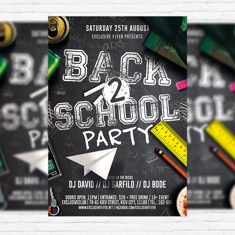 back to school flyer template - Acurlunamedia - back to school flyers