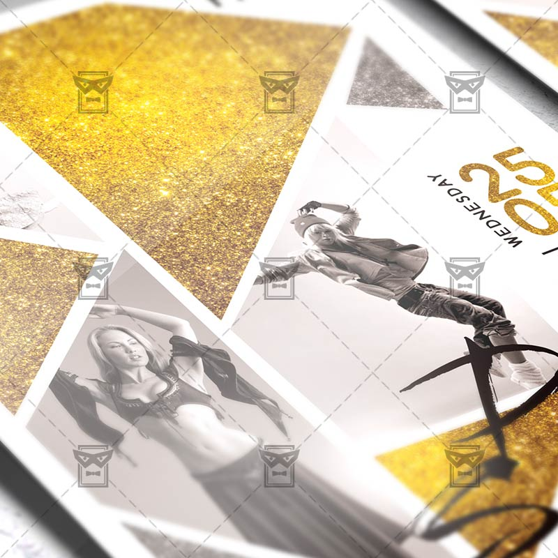 Dance School \u2013 Community A5 Flyer Template ExclsiveFlyer Free