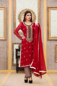 Exclusive Boutique RED Bridal Dress - Exclusive Online ...