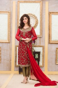Exclusive Boutique Stylish RED COLOR BRIDAL DRESS ...