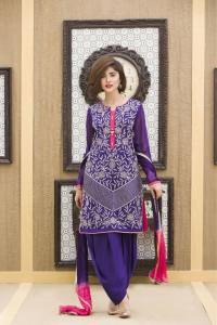EXCLUSIVE PURPLE COLOR PARTY DRESS-SAC1886 - Exclusive ...