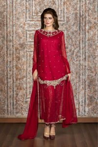 EXCLUSIVE MAROON PARTY WEAR - SAS656 - Exclusive Online ...