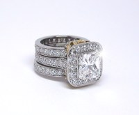 unique wedding engagement and eternity ring sets best 25 ...