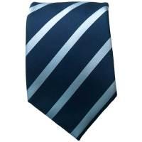 Blue/Blue Striped Neck Tie: execshirts