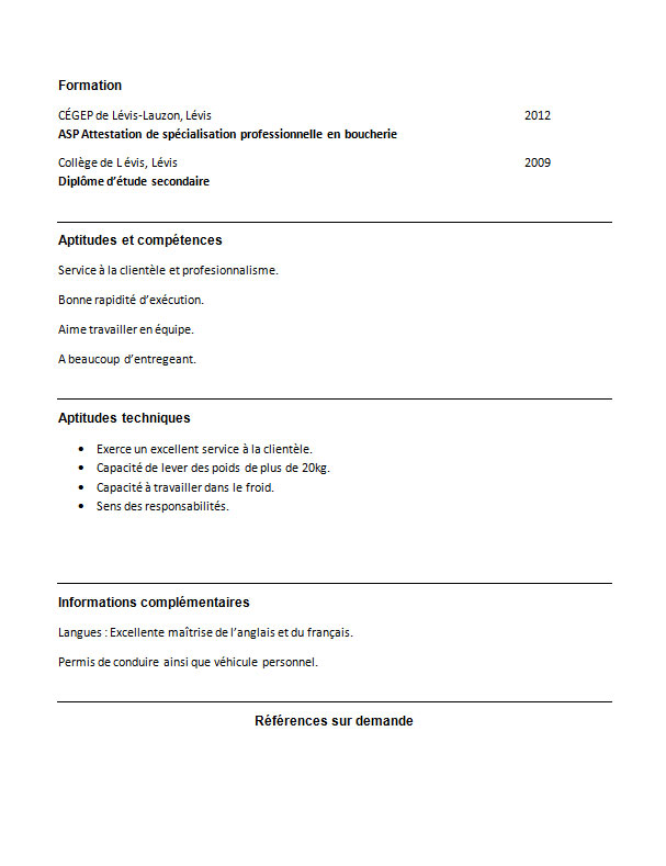 telecharger attestation cv