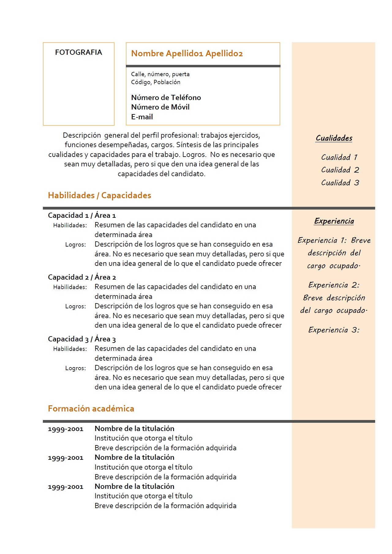 exemple cv travail interim