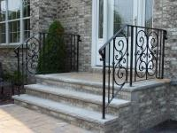 Custom Wrought Iron Railings Outdoor in NYC, Exterior Iron