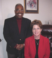 Rev. Reggie Longcrier, Executive Director & Rev. Susan Smith Walker, Asst. Executive Director