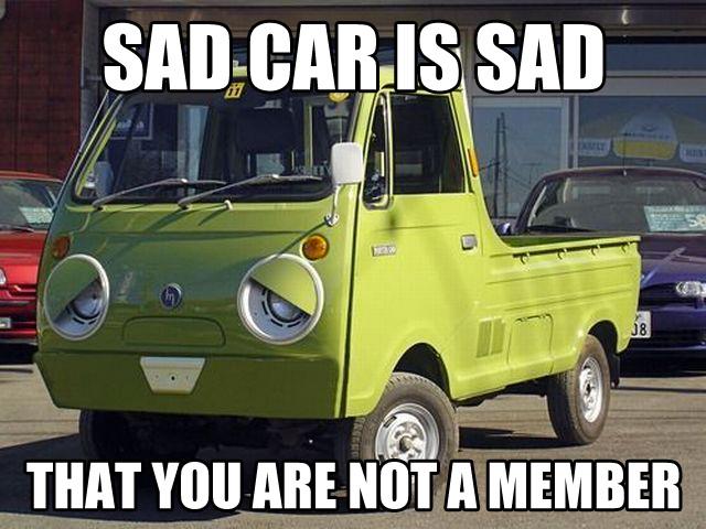sadcar