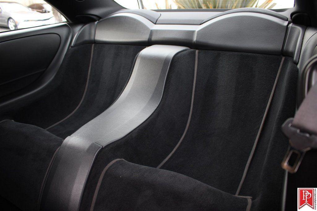 clk63 amg black series back seats