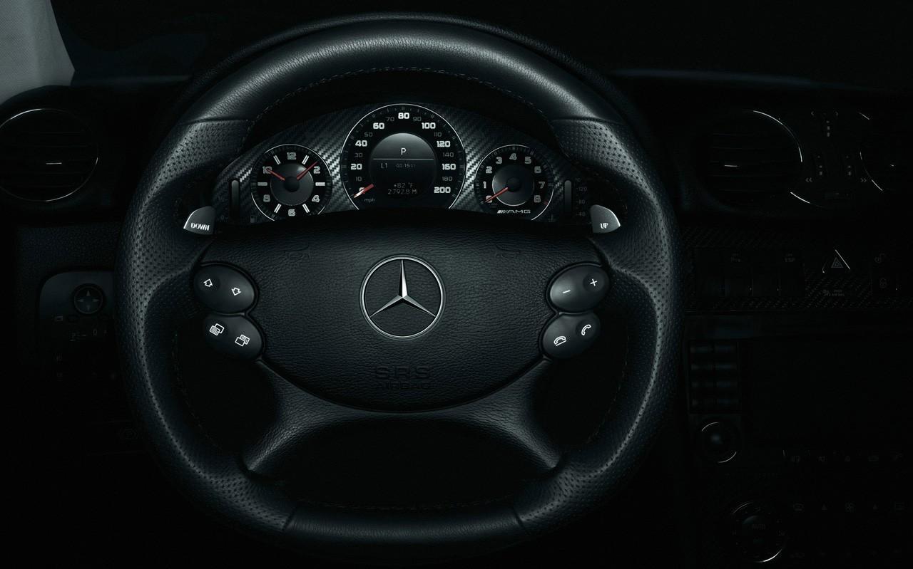 clk63 steering wheel