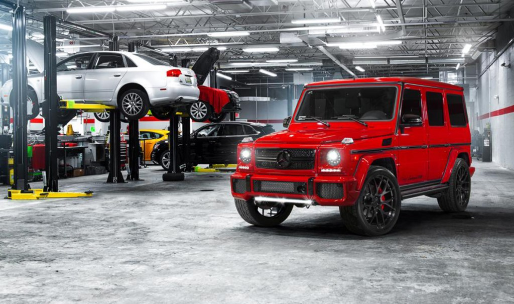 Mercedes benz g55 g63 amg buyers guide exotic car hacks for Mercedes benz c service cost