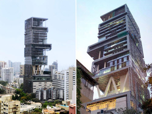 1 Billion Antilia House Is Worlds Largest And Most Expensive