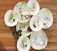 Easter Entertaining: Pottery Barn Bunny Egg Plates and Bowls