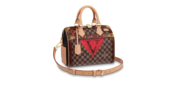 New For Fall 2018 Louis Vuitton Speedy Bandouliere 25