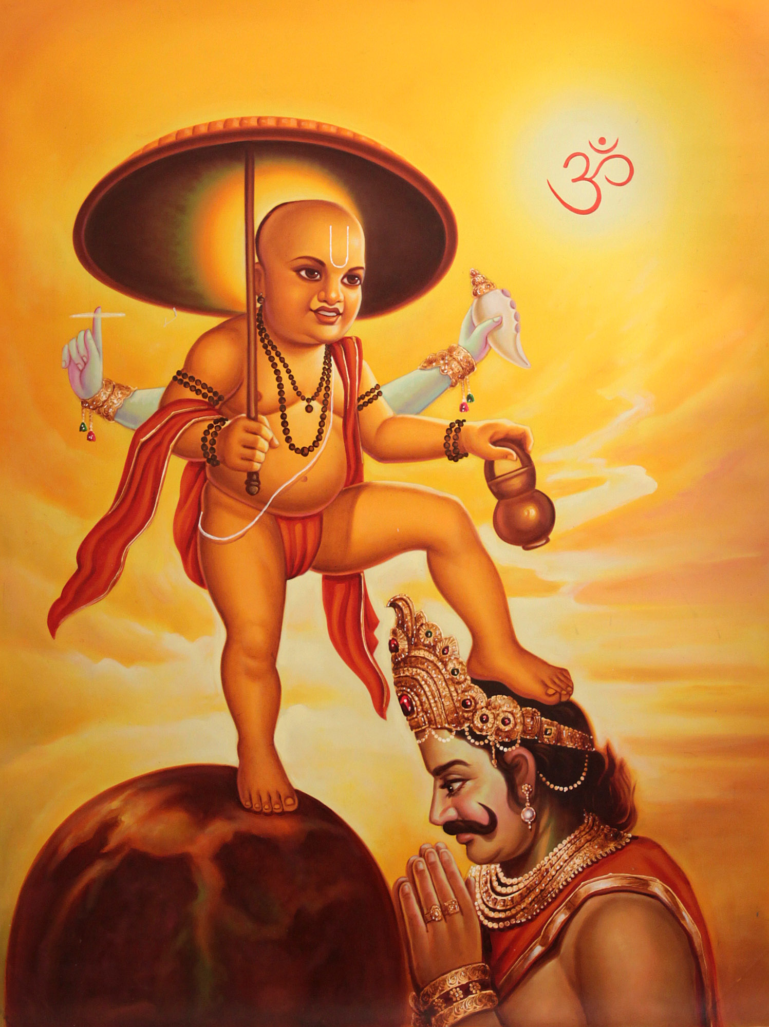 Lord Hanuman Hd Wallpaper Vishnu S Vaman Incarnation