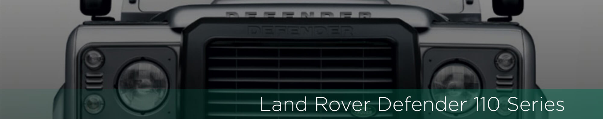 Land Rover Defender 110 - Banner Exotic Suv