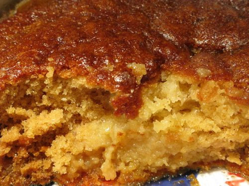 Top South African food: Malva pudding