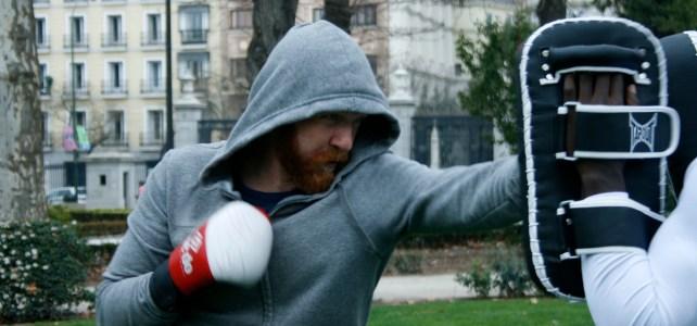 Boxing classes in Retiro — Madrid for Refugees