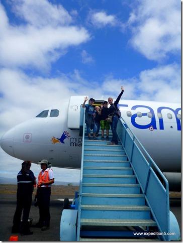 Bye-bye les Galapagos ! Equateur.