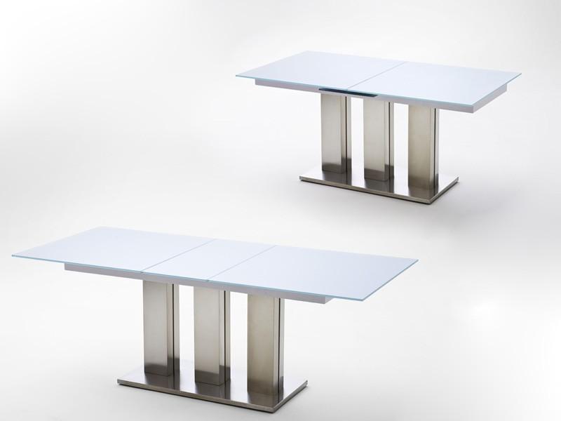 glastisch rund ausziehbar trendy esszimmer glastische und vorrates von glastisch ausziehbar. Black Bedroom Furniture Sets. Home Design Ideas