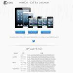 Le jailbreak de iOs 6.1