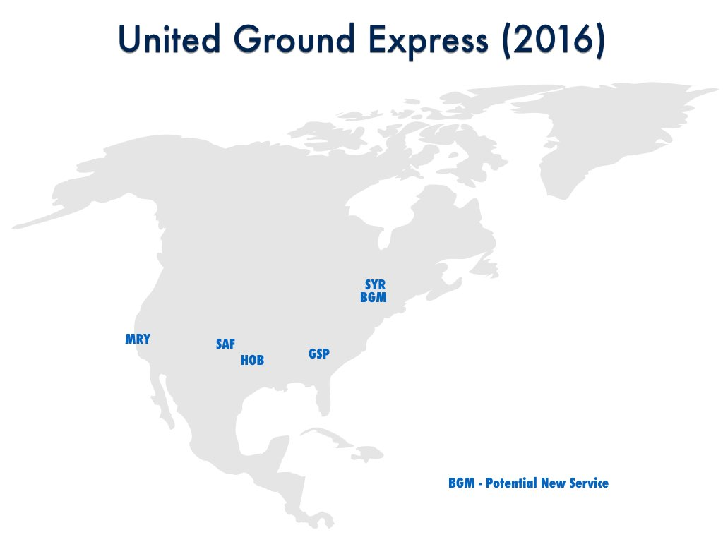 United Ground Express Expands To New Locations?