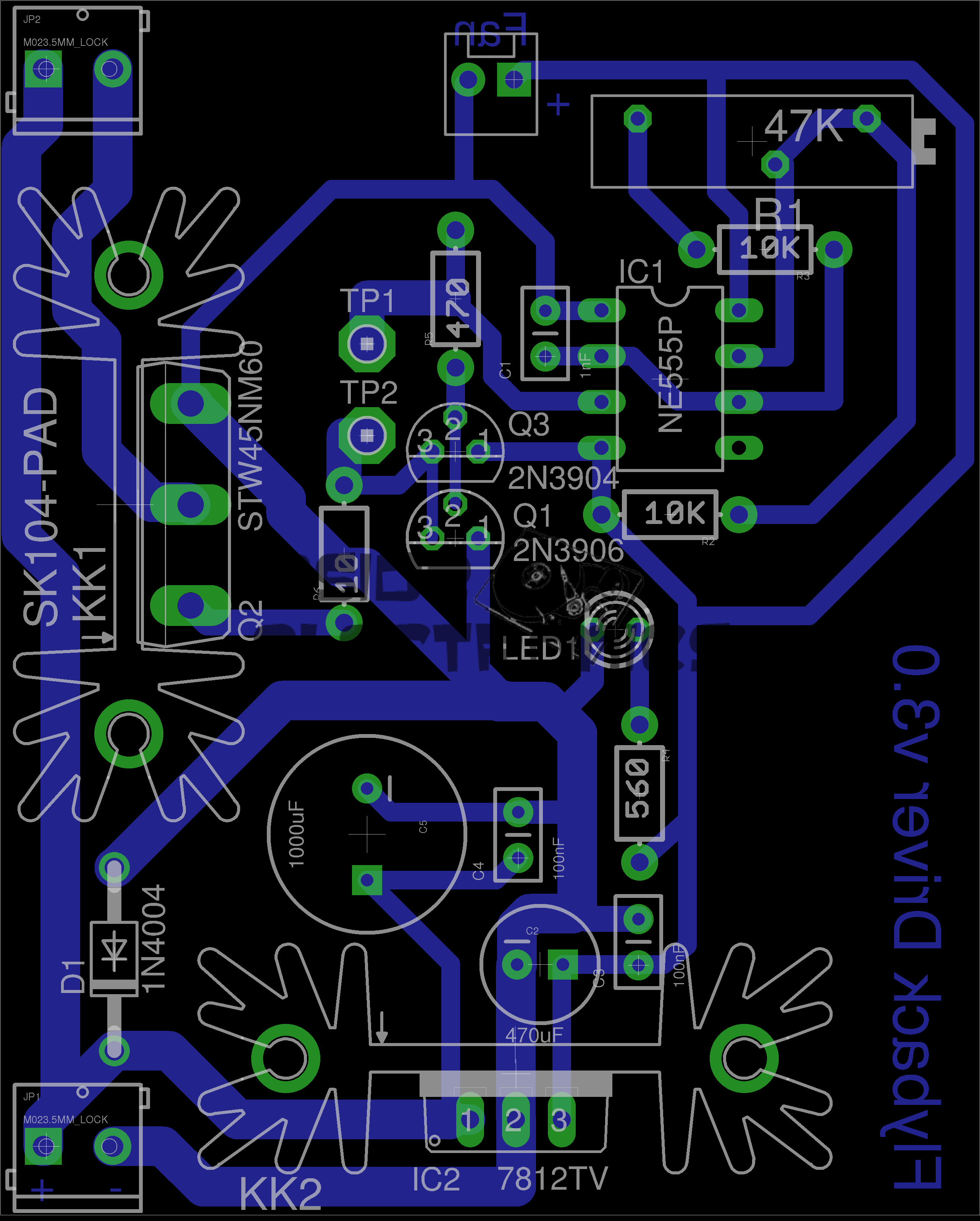 555 Pcb Auto Electrical Wiring Diagram Timer Pdf Http Wwwnextgr Othercircuits 555lm555ne555timer Flyback Driver