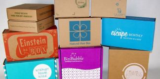 monthly subscription business online boxes