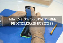 business plan - phone repair india