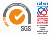 certification eec iso9001 SGS