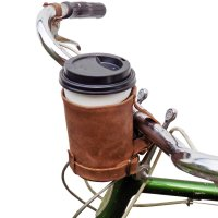 Leather Bike Cup Holder | Expertly Chosen Gifts