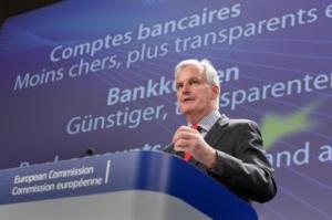 Michel Barnier, responsabil la Comisia Europeana pentru Servicii si Piata Interna