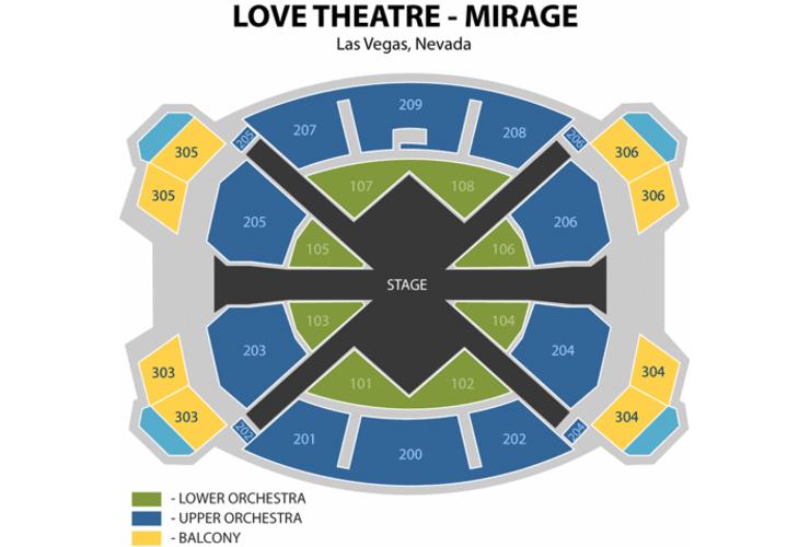 Beatles Love Show Preview  Reviews Exploring Las Vegas