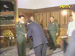 Lee Tae Yong at Myanmar Ministry of Defense