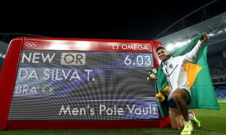 Brasil ganha mais uma medalha de ouro e quebra recorde olímpico