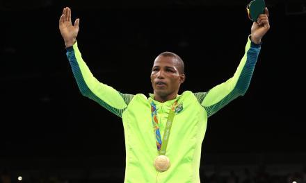 Robson Conceição ganha 3ª medalha de ouro para o Brasil