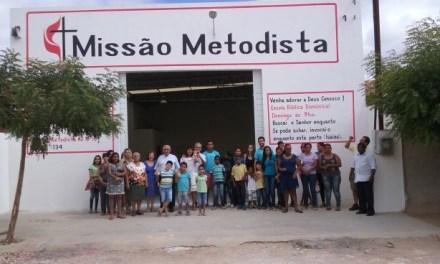A Missão Metodista em Petrolina, planta no bairro Terras do Sul, sua terceira igreja