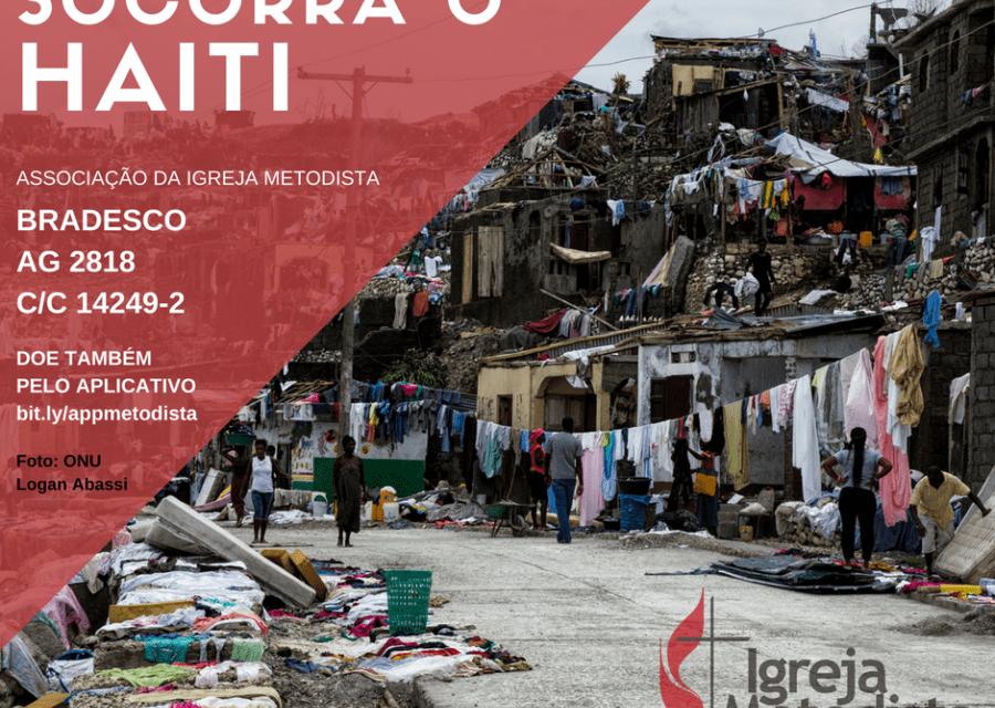 Igreja Metodista brasileira arrecada fundos para o Haiti em parceria com a UMCOR
