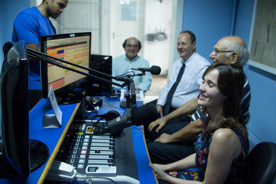 Programa um tempo com Deus na Rádio Transmundial terá nova direção