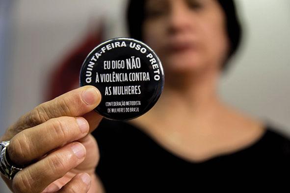 """Colégio Episcopal apoia Campanha Nacional """"Eu Digo Não à Violência Contra a Mulher"""""""