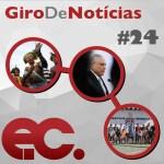 Giro de notícias #024 – Giro Regional REMNE – Esporte Vida – Chamamento ao povo metodista brasileiro
