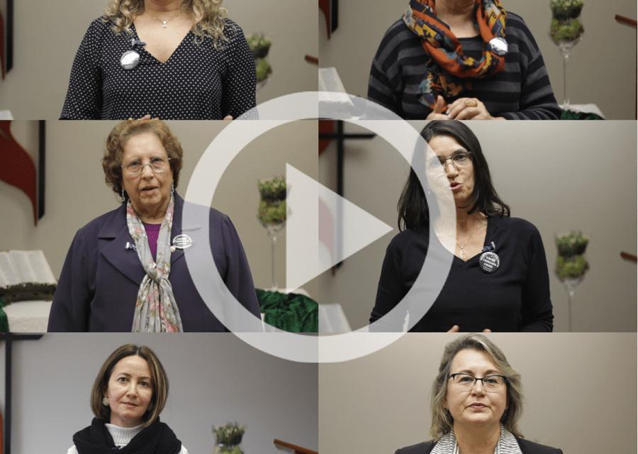 Representantes femininas falam sobre a violência contra a mulher na igreja
